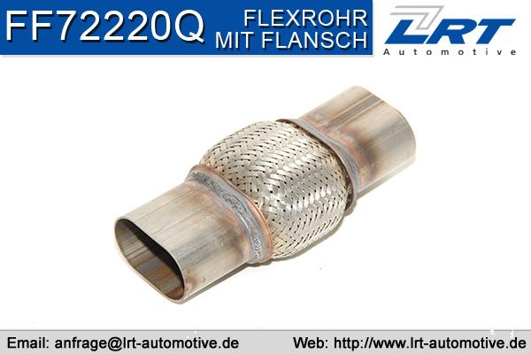 Tuyau flexible, échappement LRT FF72220Q (X1)