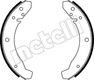kit de frein arrière simple ou prémonté METELLI 53-0459 (Jeu de 4)