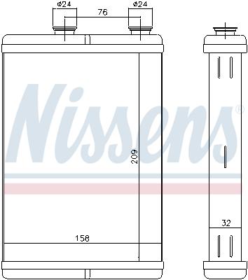 Chauffage NISSENS 71451 (X1)