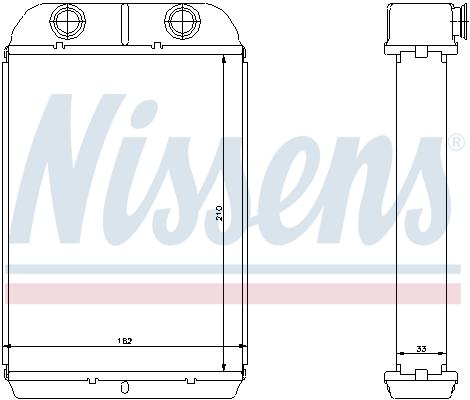 Chauffage NISSENS 71452 (X1)