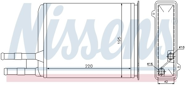 Chauffage NISSENS 73984 (X1)