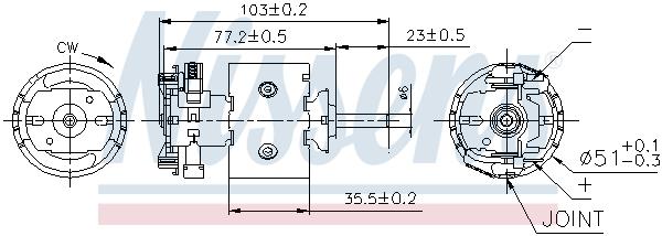 Chauffage et climatisation NISSENS 87097 (X1)