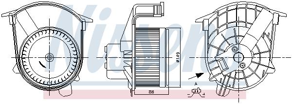 Chauffage et climatisation NISSENS 87262 (X1)