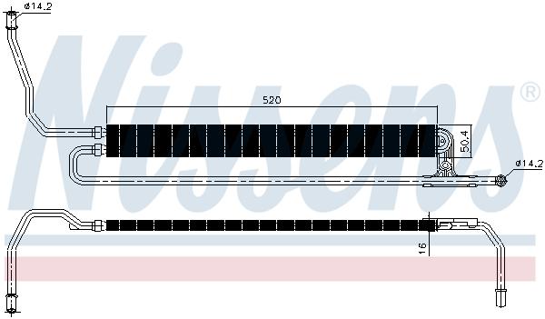 Radiateur de direction NISSENS 90625 (X1)