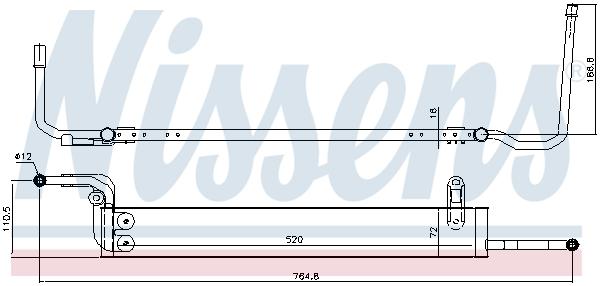 Radiateur de direction NISSENS 90631 (X1)