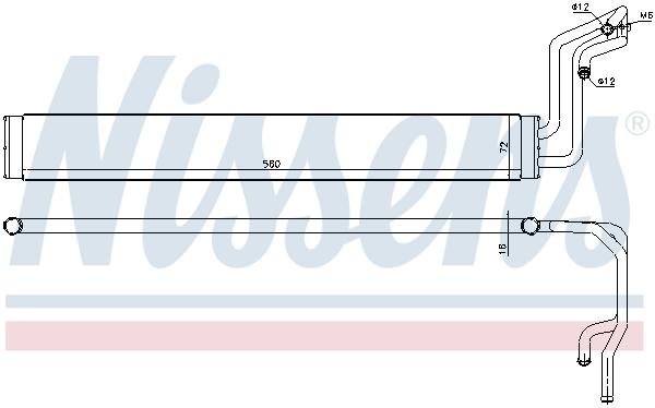 Radiateur de direction NISSENS 90633 (X1)