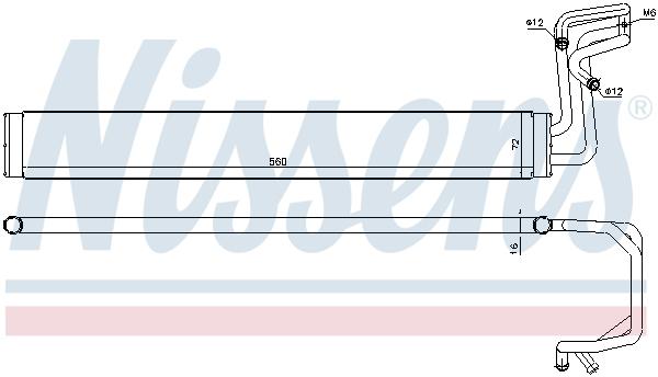 Radiateur de direction NISSENS 90636 (X1)