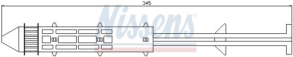 Bouteille deshydratante NISSENS 95326 (X1)