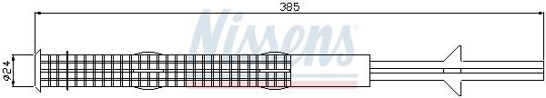 Bouteille deshydratante NISSENS 95486 (X1)