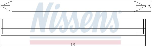 Bouteille deshydratante NISSENS 95499 (X1)
