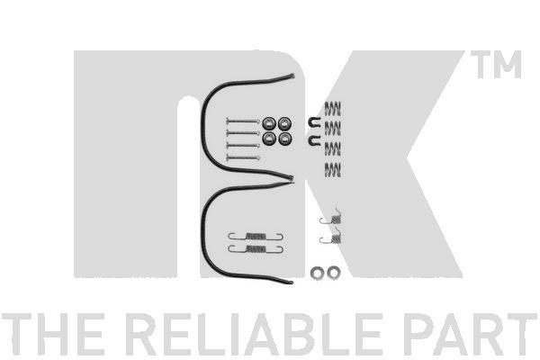Kit de montage machoires de frein Eurobrake 7922633 (X1)