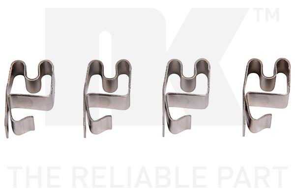 Kit de montage plaquettes de frein Eurobrake 7930219 (X1)