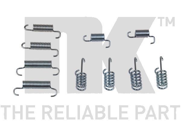 Kit d'accessoires mâchoires de frein de stationnement Eurobrake 79330004 (X1)