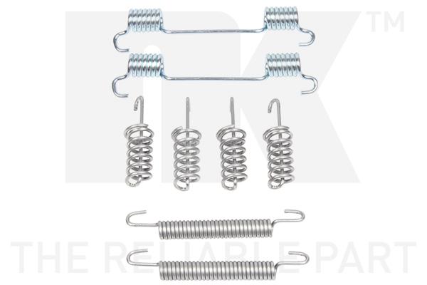 Kit d'accessoires mâchoires de frein de stationnement Eurobrake 7933775 (X1)
