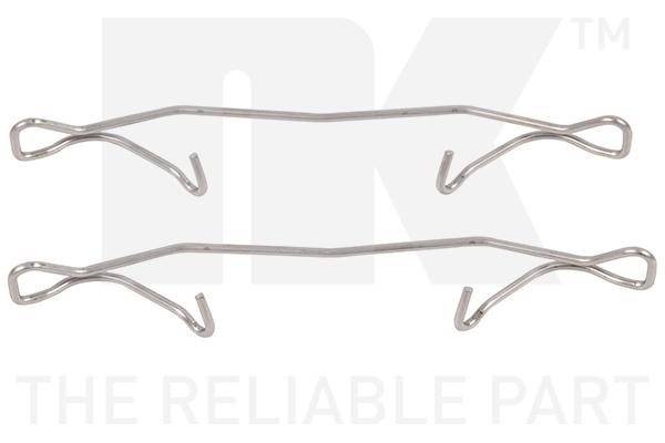 Kit de montage plaquettes de frein Eurobrake 7936180 (X1)