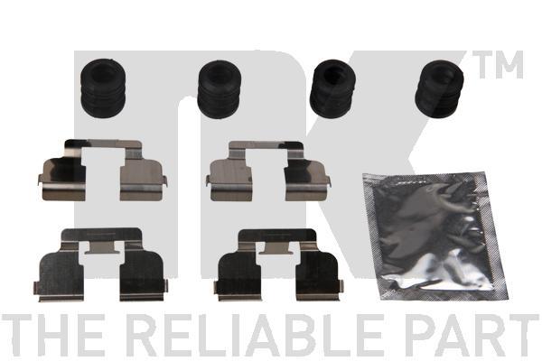 Kit de montage plaquettes de frein Eurobrake 79391835 (X1)