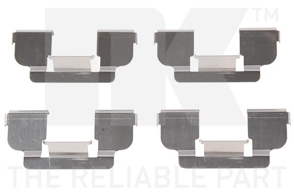 Kit de montage plaquettes de frein Eurobrake 7939698 (X1)
