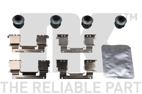 Kit de montage plaquettes de frein Eurobrake 79451838 (X1)