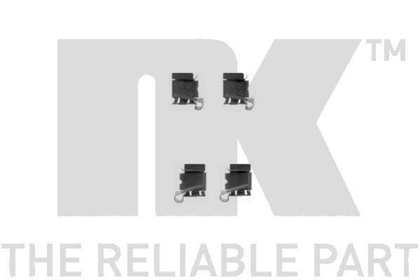Kit de montage plaquettes de frein Eurobrake 7945622 (X1)