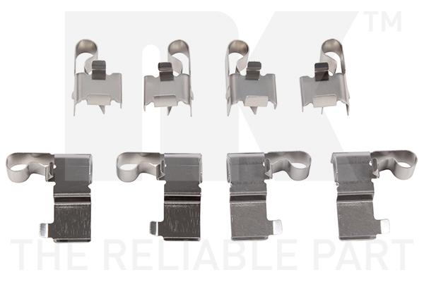 Kit de montage plaquettes de frein Eurobrake 7945699 (X1)