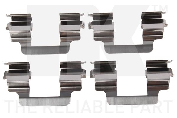Kit de montage plaquettes de frein Eurobrake 7947610 (X1)