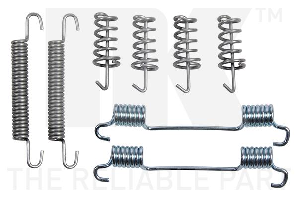 Kit d'accessoires mâchoires de frein de stationnement Eurobrake 7947868 (X1)