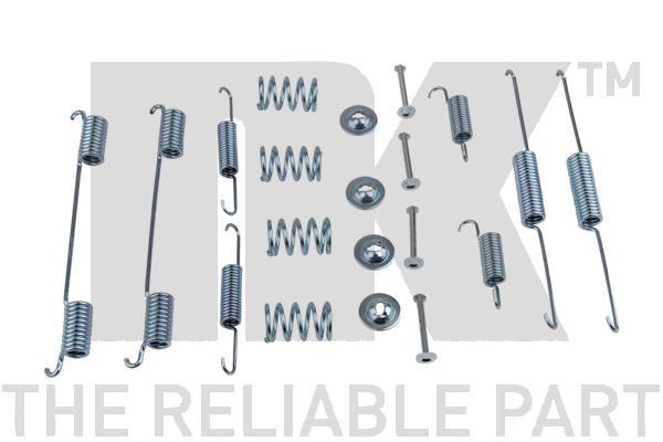 Kit de montage machoires de frein Eurobrake 7993861 (X1)