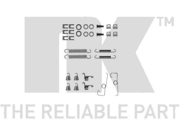 Kit de montage machoires de frein Eurobrake 7999644 (X1)