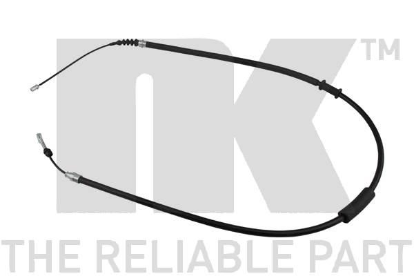 Cable de frein à main Eurobrake 901012 (X1)