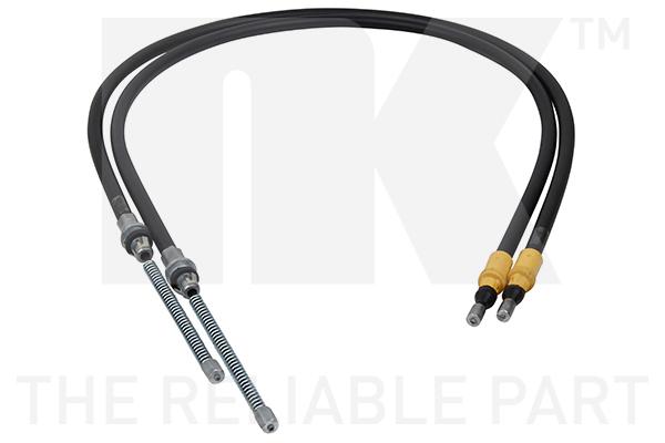 Cable de frein à main Eurobrake 9033115 (X1)