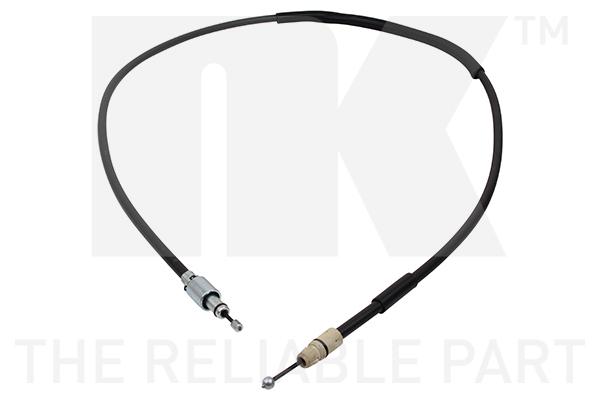 Cable de frein à main Eurobrake 9047144 (X1)