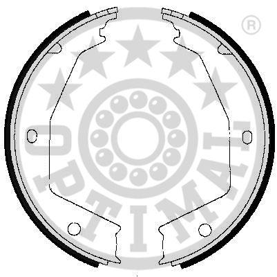 kit de frein arrière simple ou prémonté (X1)
