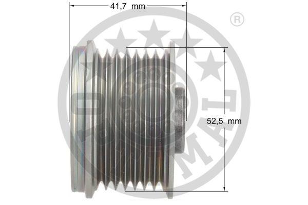 Poulie d'alternateur OPTIMAL F5-1074 (X1)