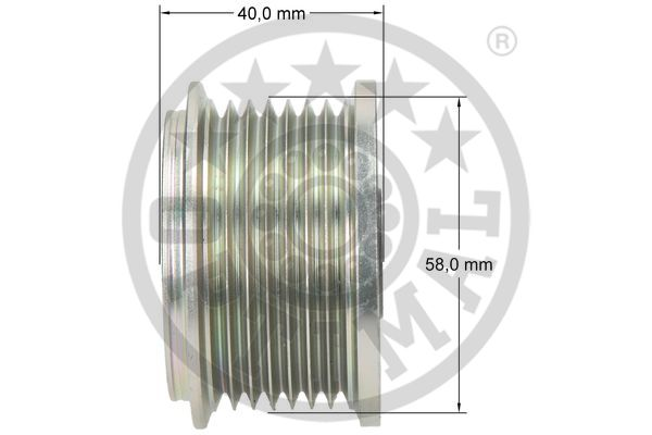 Poulie d'alternateur OPTIMAL F5-1084 (X1)