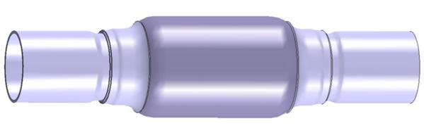 Raccord de tuyau d'echappement WALKER 01087 (X1)