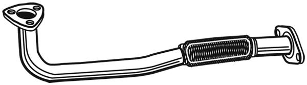 Tube d'echappement WALKER 06063 (X1)