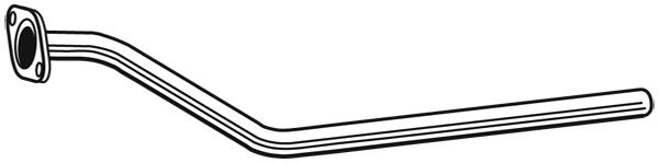 Tube d'echappement WALKER 10577 (X1)