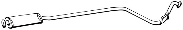 Silencieux avant WALKER 17271 (X1)