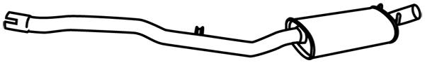Silencieux central WALKER 18980 (X1)