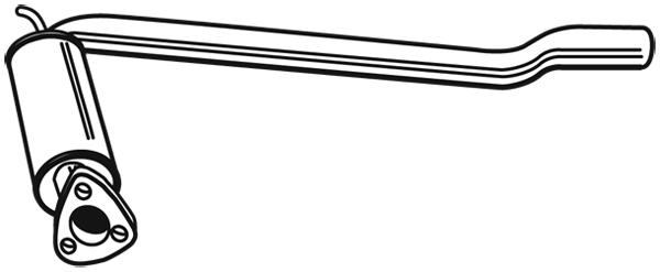 Silencieux avant WALKER 22208 (X1)