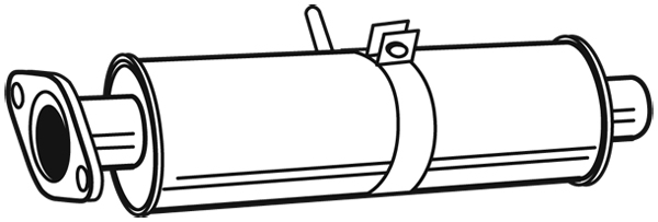 Silencieux avant WALKER 23059 (X1)