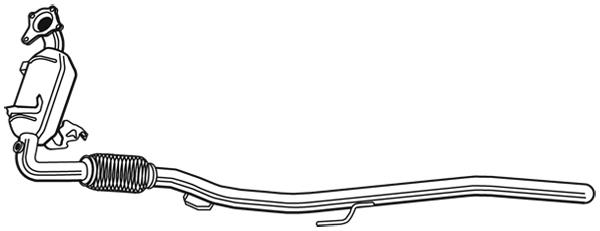 Catalyseur WALKER 28568 (X1)