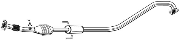 Catalyseur WALKER 28597 (X1)