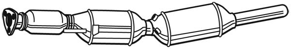 Filtre a particules - FAP WALKER 73163 (X1)