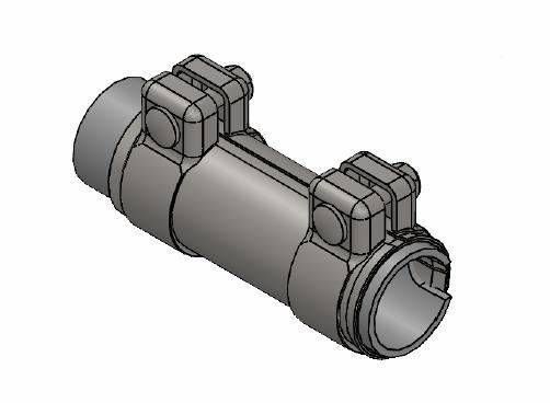 Raccord de tuyau d'echappement WALKER 80138 (X1)