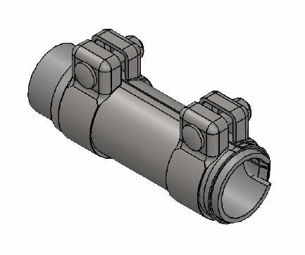 Raccord de tuyau d'echappement WALKER 80190 (X1)