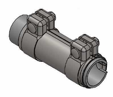 Raccord de tuyau d'echappement WALKER 80250 (X1)