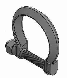 Collier d'echappement WALKER 80562 (X1)