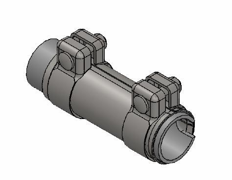 Raccord de tuyau d'echappement WALKER 80709 (X1)