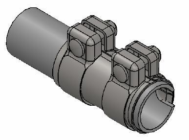 Raccord de tuyau d'echappement WALKER 80711 (X1)
